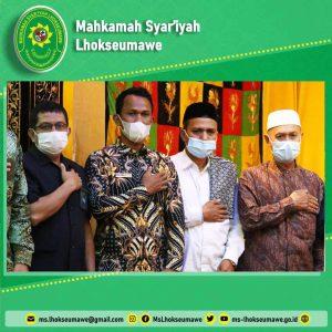 Ketua MS Lhokseumawe hadiri silaturrahmi Kapolda Aceh dengan Bupati dan Unsur Forkopimda Pemkab Aceh Utara