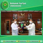 Ketua MS Lhokseumawe bersilaturahmi ke PT Perta Arun Gas Lhokseumawe